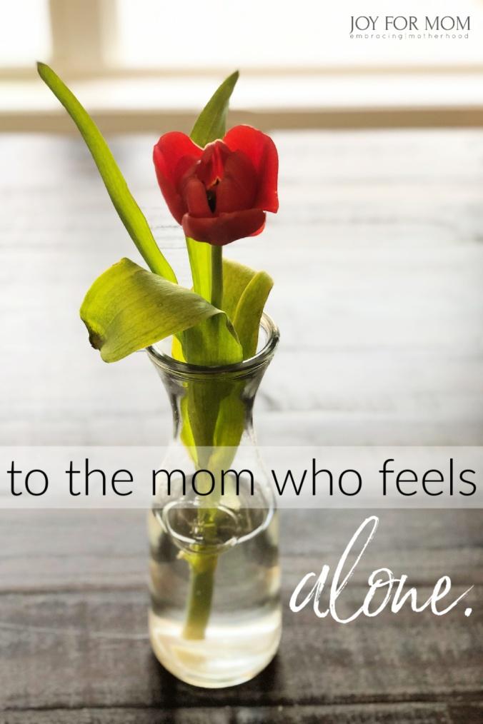 mom alone